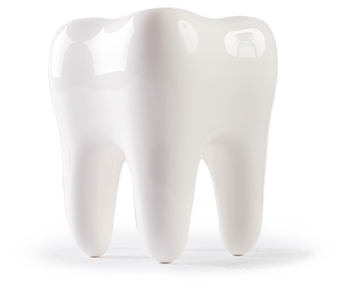 Large animated tooth